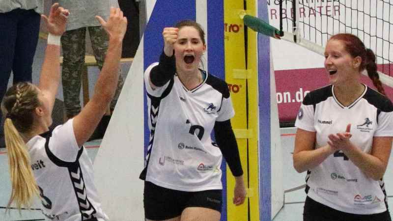 Volleyball-Team Hamburg. | Foto: ein