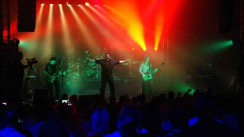 Phil Collins- und Genesis-Tribute-Band True Collins. | Foto: ein