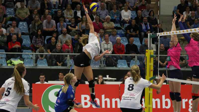 Volleyball Team Hamburg. Foto: ein