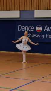 Michelle Melnikow in Aktion beim Dance Award. | Foto: ein
