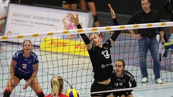 Juliane Köhler vom Volleyball-Team Hamburg. | Foto: VTH/Lehmann