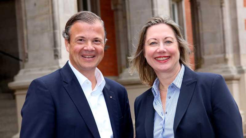 Franziska Wedemann übernimmt den Vorstandsvorsitz des Wirtschaftsvereins für den Hamburger Süden von Arnold G. Mergell. | Foto: ein