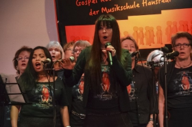 Jutta Weinholds Gospel-Rock-Chor der Musikschule Hanstedt @Linde Klecken (21.01.2017)